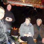 Monika und Paul Hiestand mit Hedi und Hampi Meier